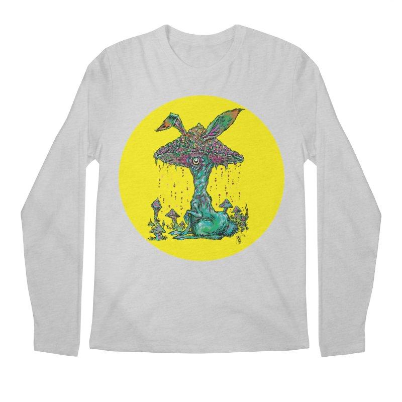 Fungal Bunny Men's Regular Longsleeve T-Shirt by Nick the Hat