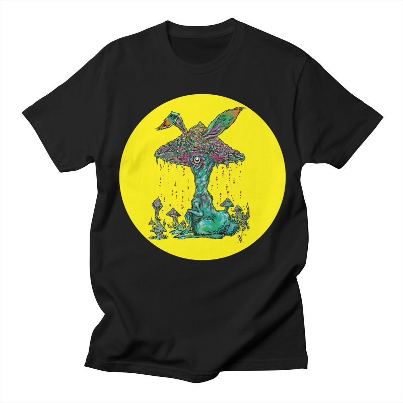 Fungal Bunny Men's Regular T-Shirt by Nick the Hat
