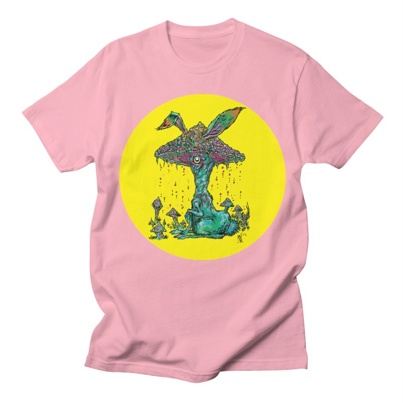 Fungal Bunny Women's Regular Unisex T-Shirt by Nick the Hat
