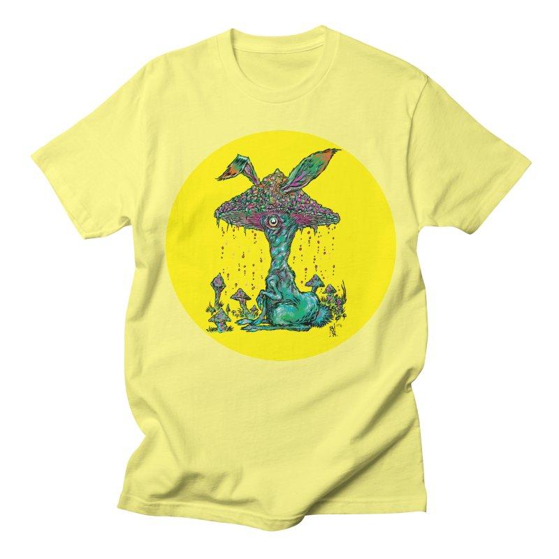 Fungal Bunny Women's Regular Unisex T-Shirt by Nick the Hat