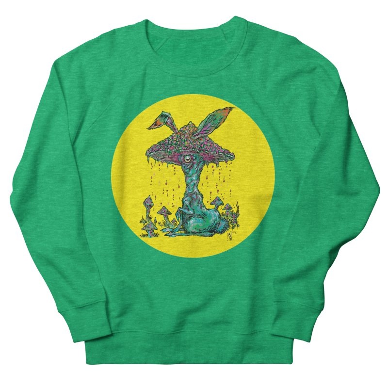 Fungal Bunny Women's Sweatshirt by Nick the Hat