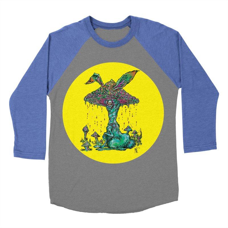 Fungal Bunny Women's Baseball Triblend Longsleeve T-Shirt by Nick the Hat