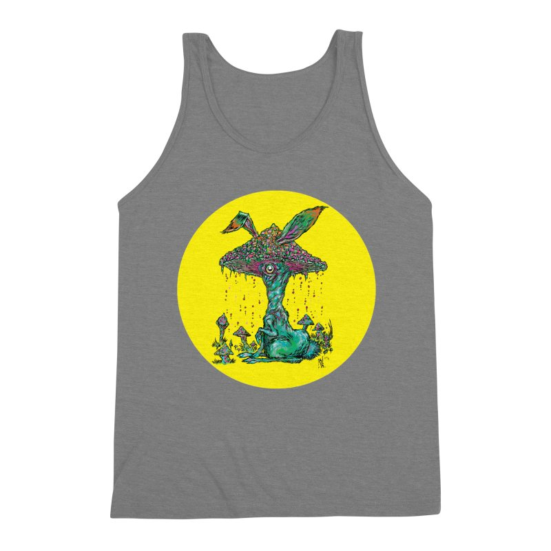 Fungal Bunny Men's Tank by Nick the Hat
