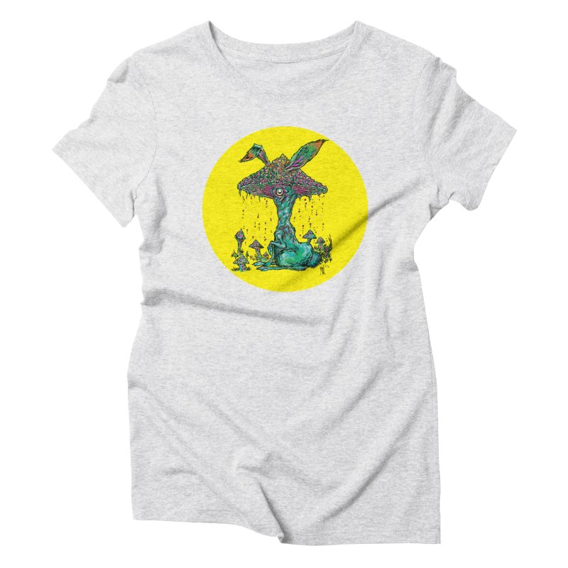 Fungal Bunny Women's T-Shirt by Nick the Hat