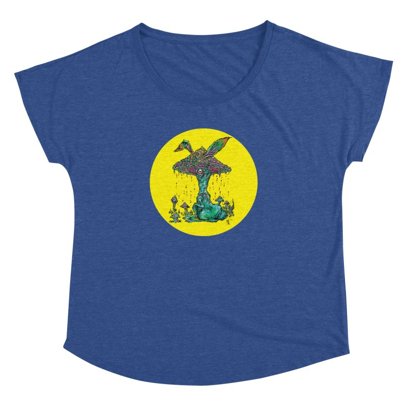 Fungal Bunny Women's Dolman by Nick the Hat