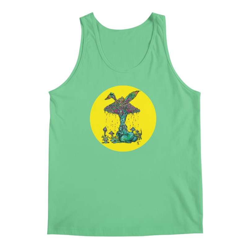Fungal Bunny Men's Regular Tank by Nick the Hat