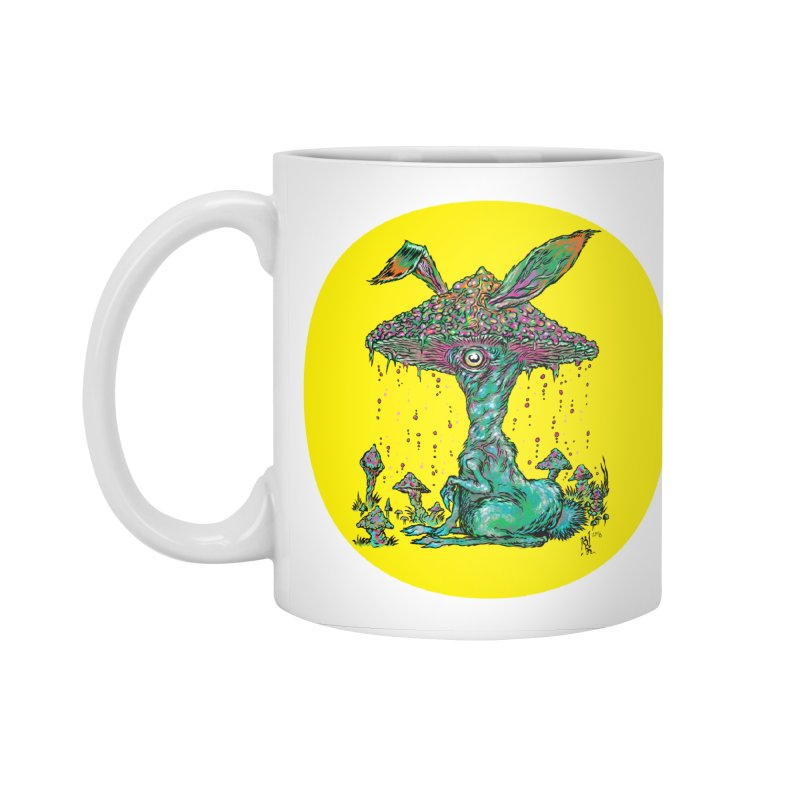 Fungal Bunny Accessories Standard Mug by Nick the Hat