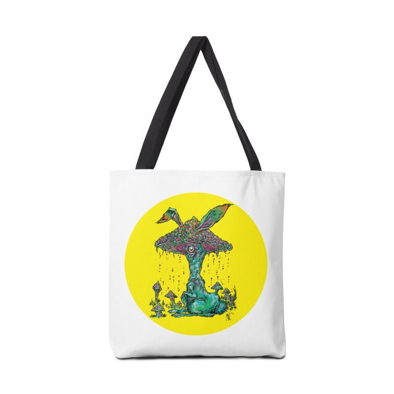 Fungal Bunny Accessories Tote Bag Bag by Nick the Hat