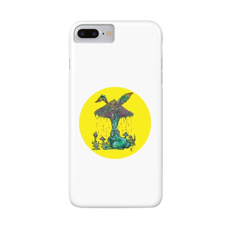 Fungal Bunny Accessories Phone Case by Nick the Hat