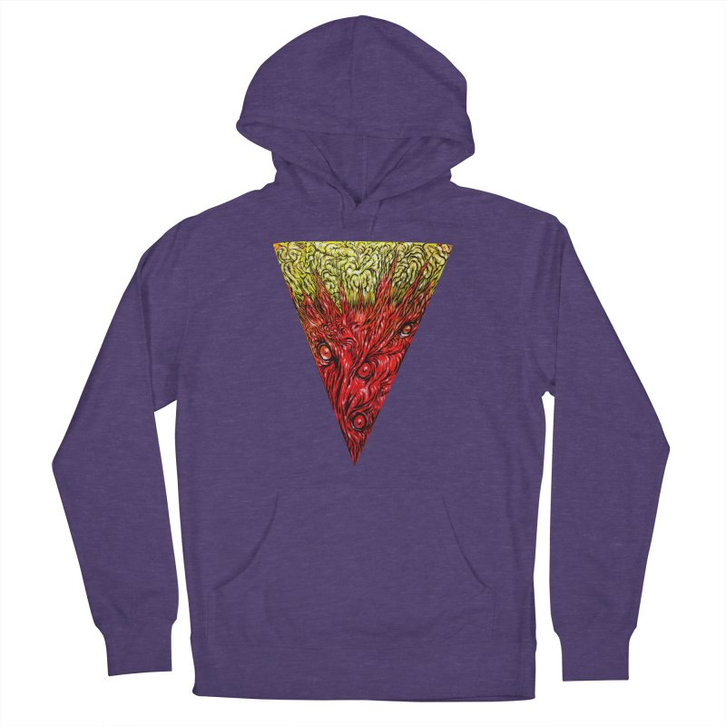 Nefarious Slice Men's French Terry Pullover Hoody by Nick the Hat