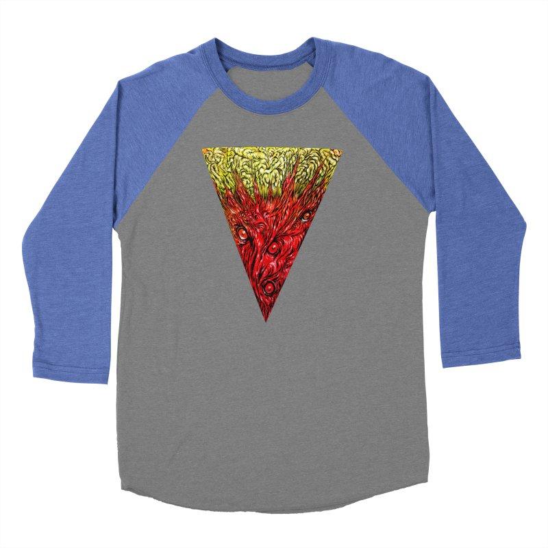 Nefarious Slice Women's Baseball Triblend Longsleeve T-Shirt by Nick the Hat