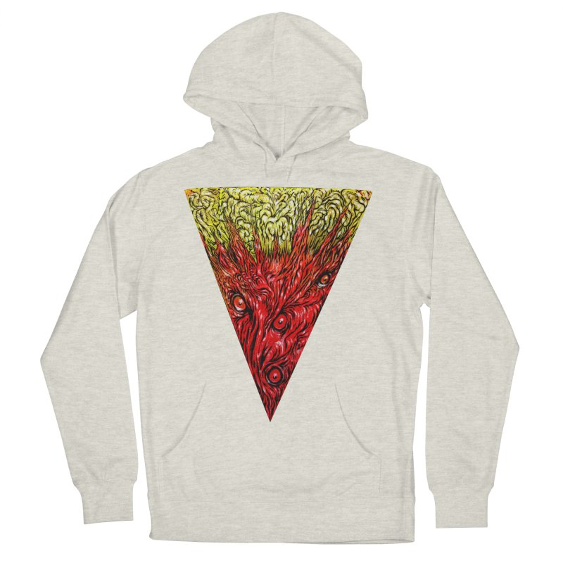 Nefarious Slice Women's French Terry Pullover Hoody by Nick the Hat