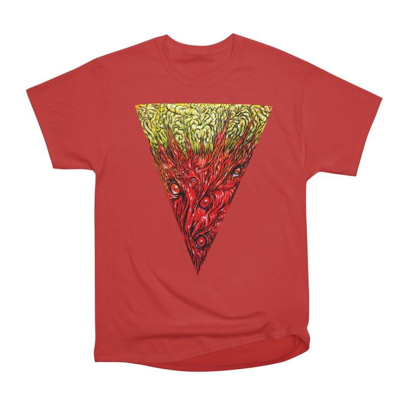 Nefarious Slice Women's Heavyweight Unisex T-Shirt by Nick the Hat