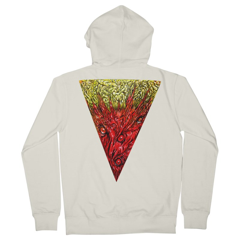Nefarious Slice Women's French Terry Zip-Up Hoody by Nick the Hat