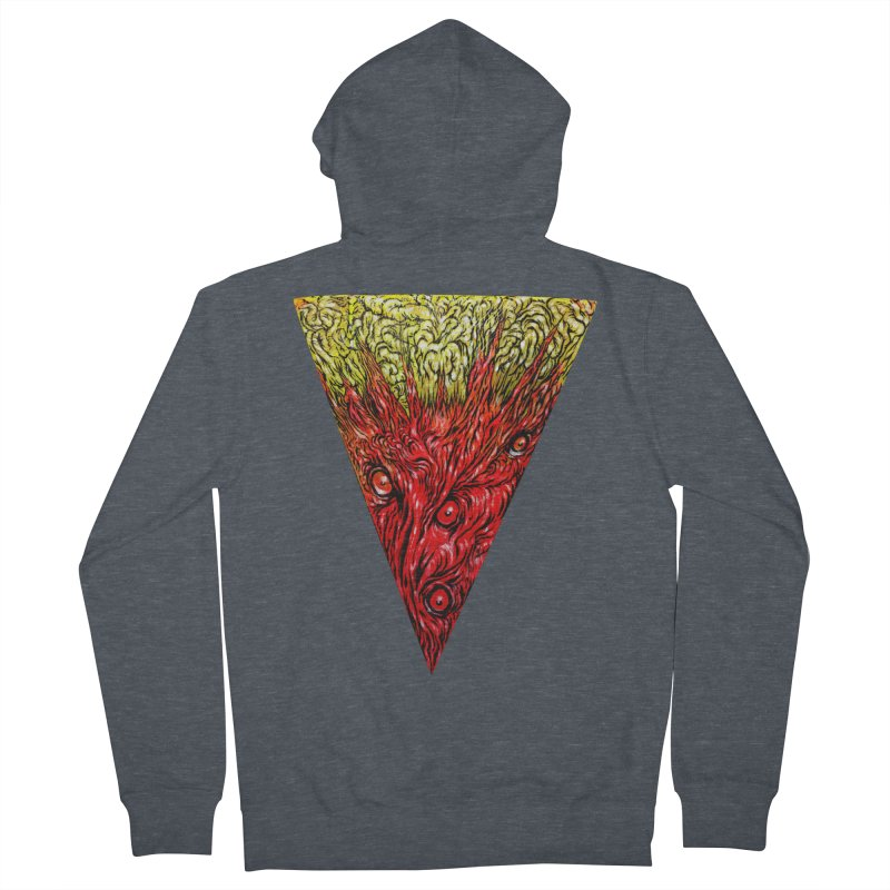 Nefarious Slice Men's Zip-Up Hoody by Nick the Hat