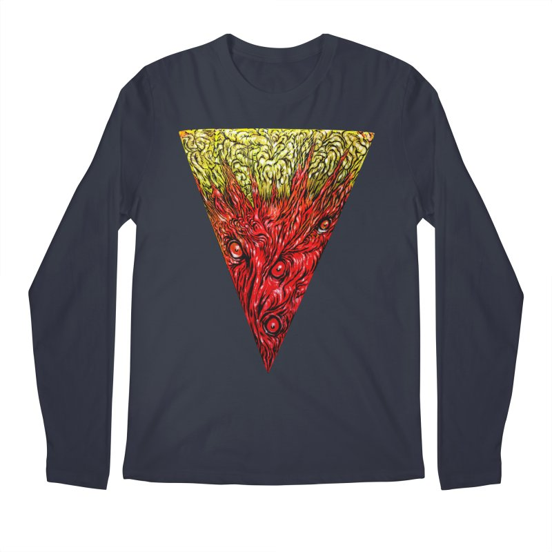 Nefarious Slice Men's Regular Longsleeve T-Shirt by Nick the Hat