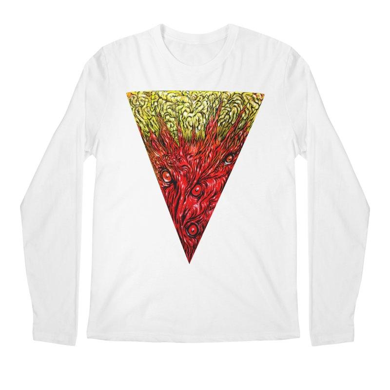 Nefarious Slice Men's Longsleeve T-Shirt by Nick the Hat
