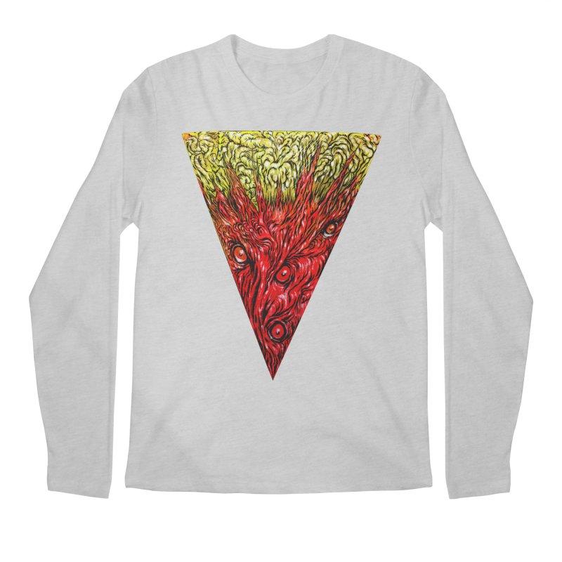 Nefarious Slice Men's Regular Longsleeve T-Shirt by Nick the Hat
