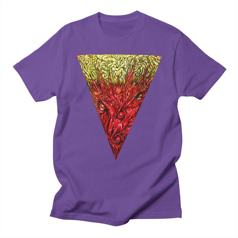 Nefarious Slice Women's Regular Unisex T-Shirt by Nick the Hat