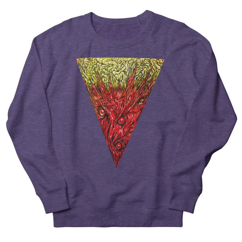Nefarious Slice Women's French Terry Sweatshirt by Nick the Hat