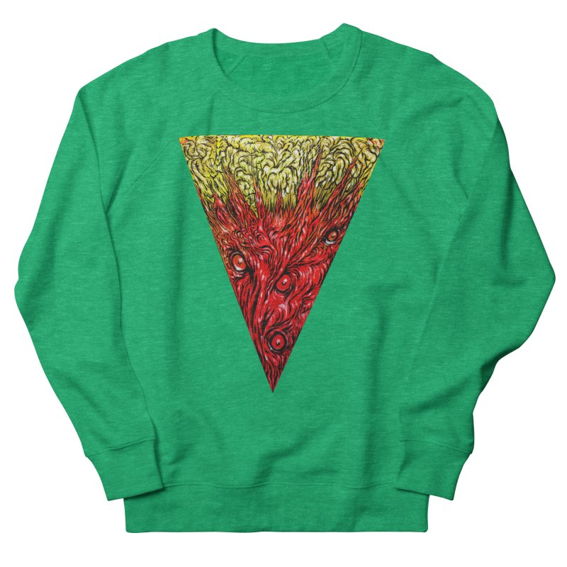 Nefarious Slice Men's French Terry Sweatshirt by Nick the Hat