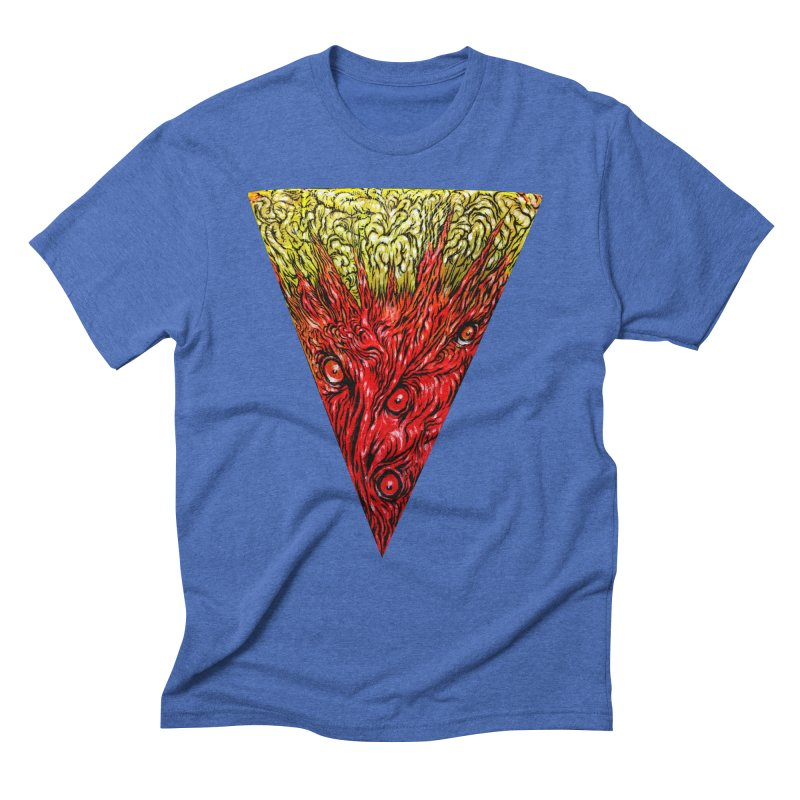 Nefarious Slice Men's Triblend T-Shirt by Nick the Hat
