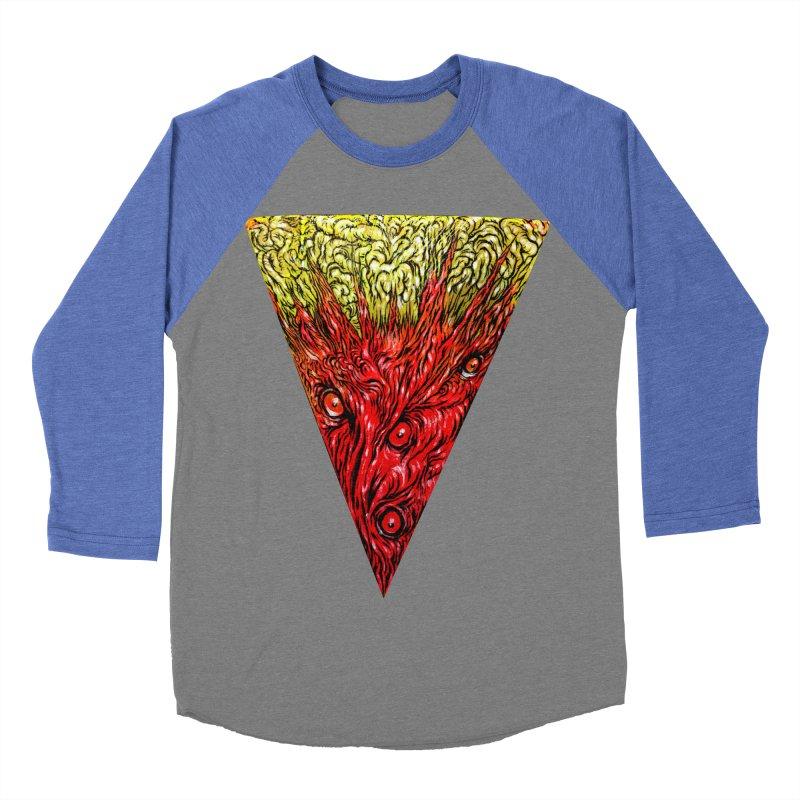 Nefarious Slice Men's Baseball Triblend T-Shirt by Nick the Hat