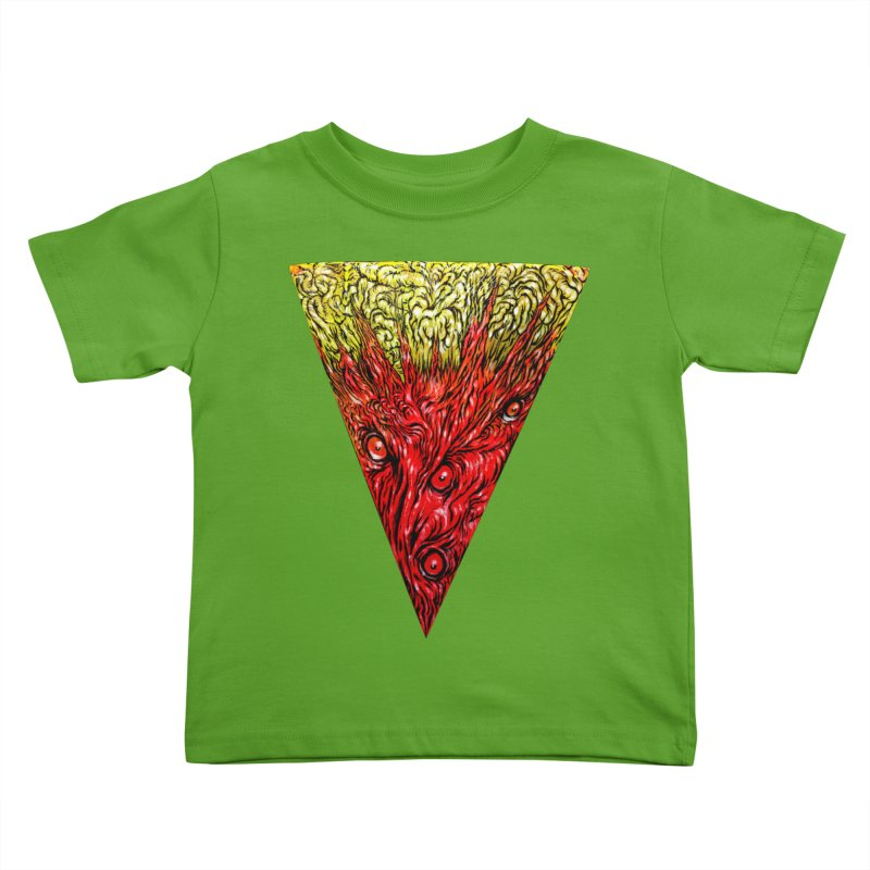 Nefarious Slice Kids Toddler T-Shirt by Nick the Hat