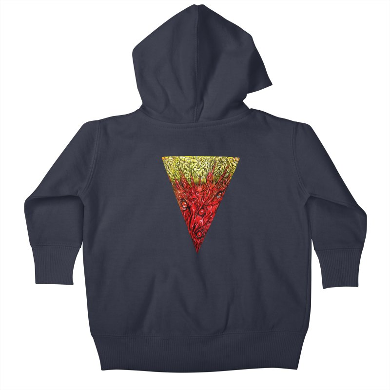 Nefarious Slice Kids Baby Zip-Up Hoody by Nick the Hat