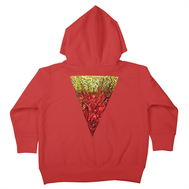 Nefarious Slice Kids Toddler Zip-Up Hoody by Nick the Hat