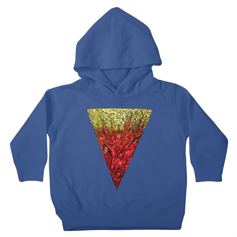 Nefarious Slice Kids Toddler Pullover Hoody by Nick the Hat