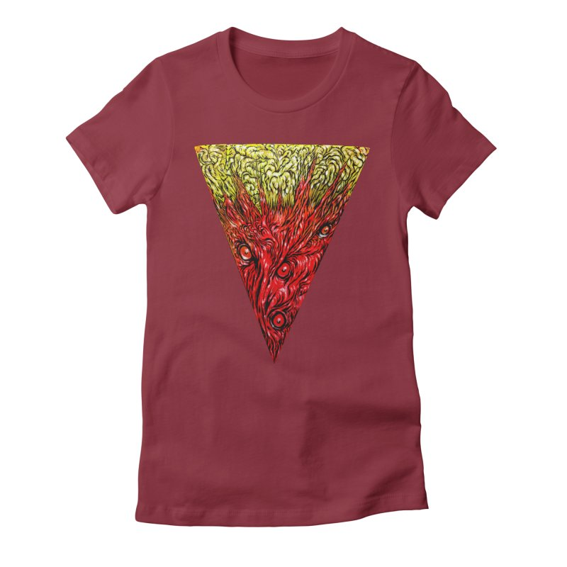 Nefarious Slice Women's T-Shirt by Nick the Hat