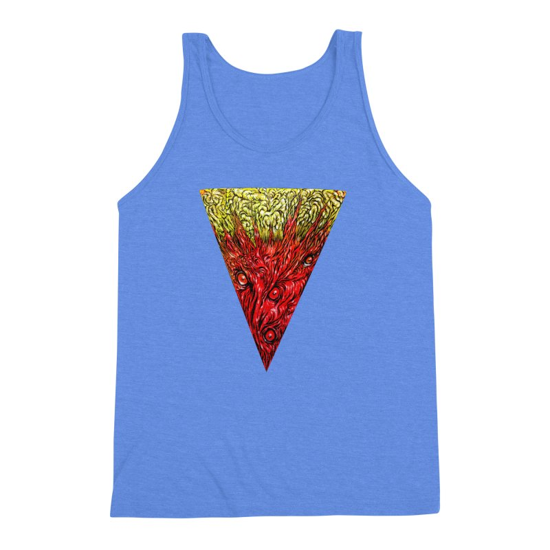 Nefarious Slice Men's Triblend Tank by Nick the Hat