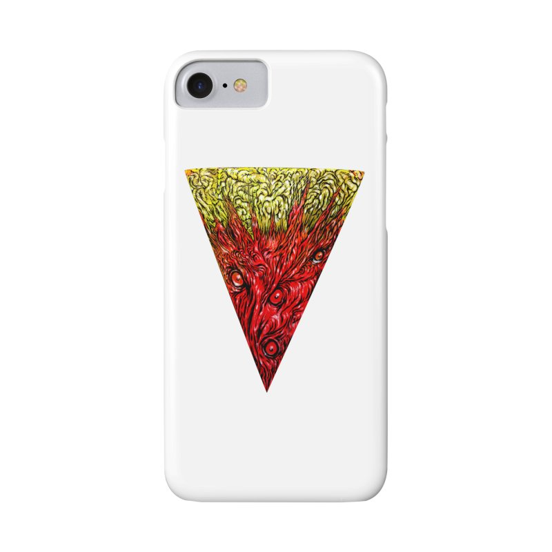 Nefarious Slice Accessories Phone Case by Nick the Hat