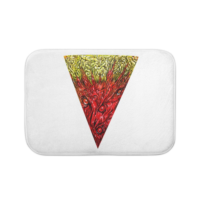 Nefarious Slice Home Bath Mat by Nick the Hat