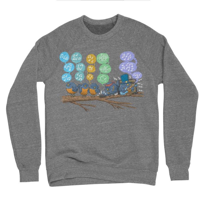 Spring Birds Men's Sponge Fleece Sweatshirt by nickv47