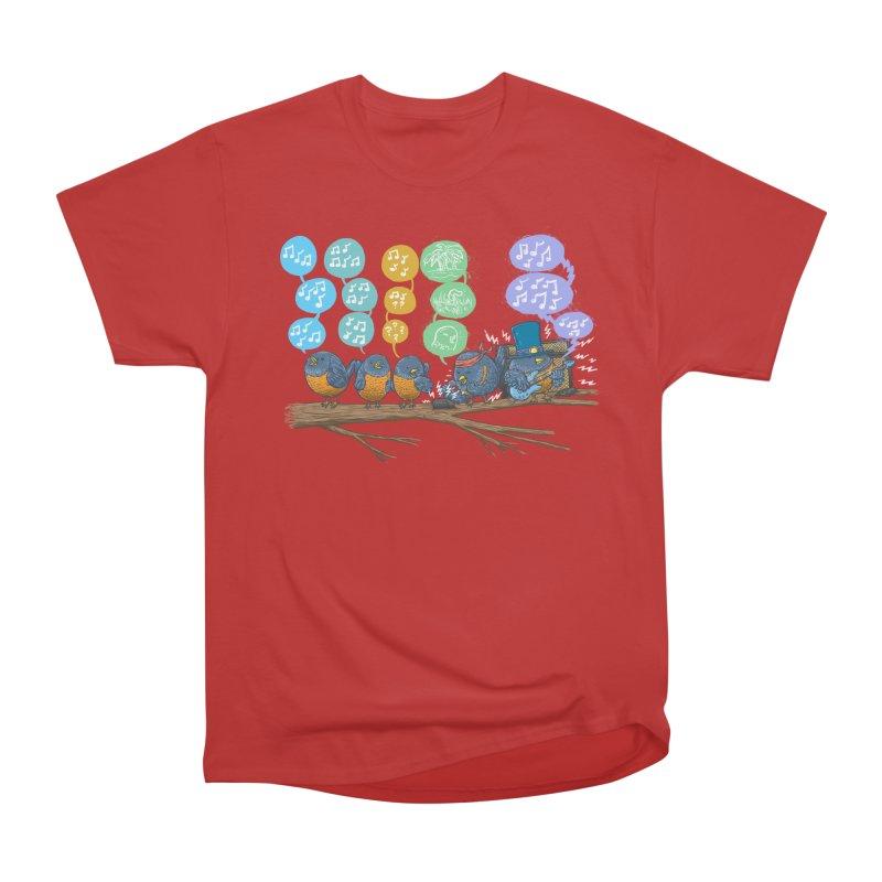 Spring Birds Women's Heavyweight Unisex T-Shirt by nickv47