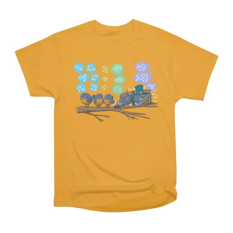 Spring Birds Men's Heavyweight T-Shirt by nickv47