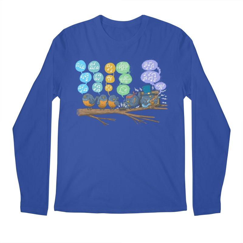 Spring Birds Men's Regular Longsleeve T-Shirt by nickv47