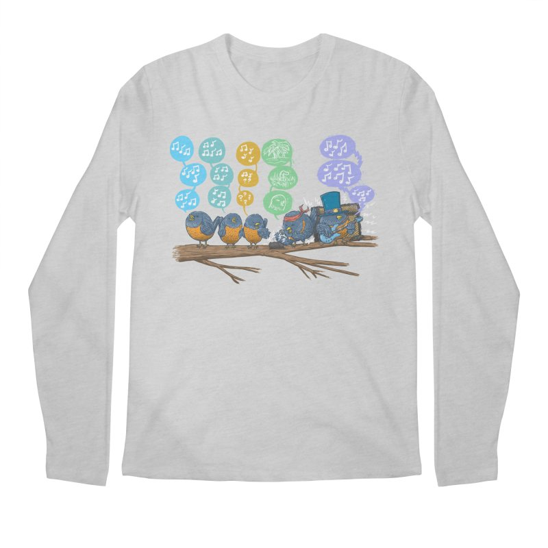 Spring Birds Men's Regular Longsleeve T-Shirt by nickv47