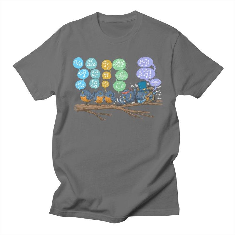 Spring Birds Men's T-Shirt by nickv47
