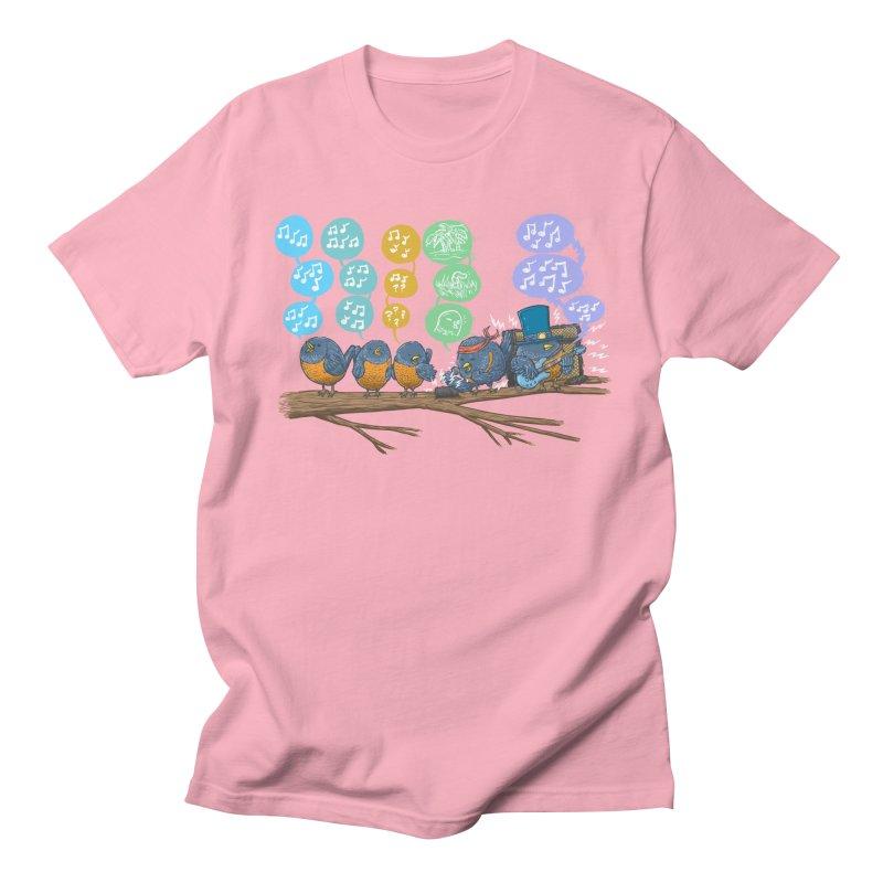 Spring Birds Women's Regular Unisex T-Shirt by nickv47