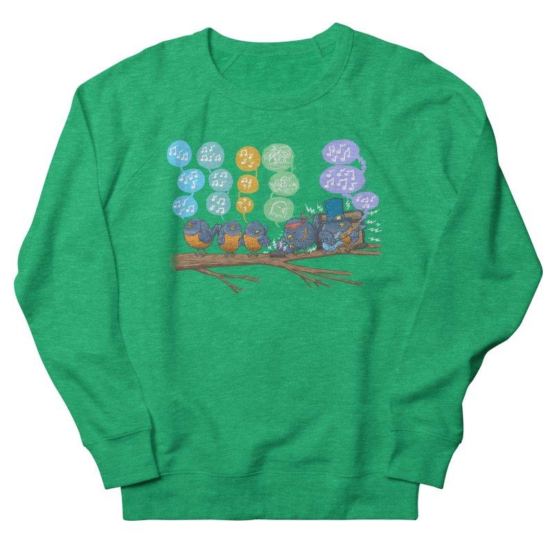 Spring Birds Women's French Terry Sweatshirt by nickv47