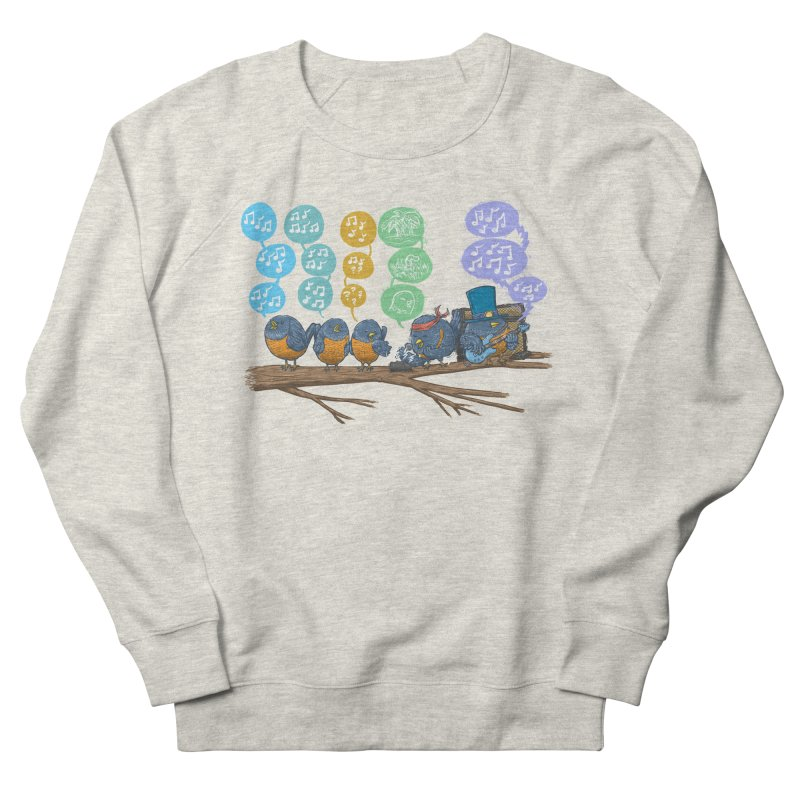 Spring Birds Women's French Terry Sweatshirt by nickv47