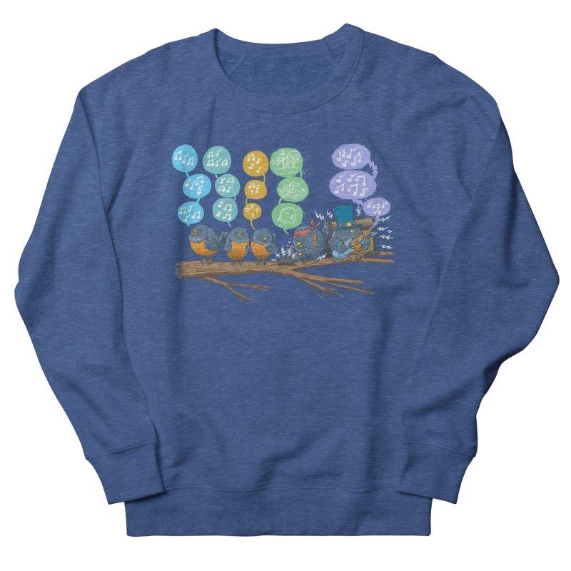 Spring Birds Men's French Terry Sweatshirt by nickv47