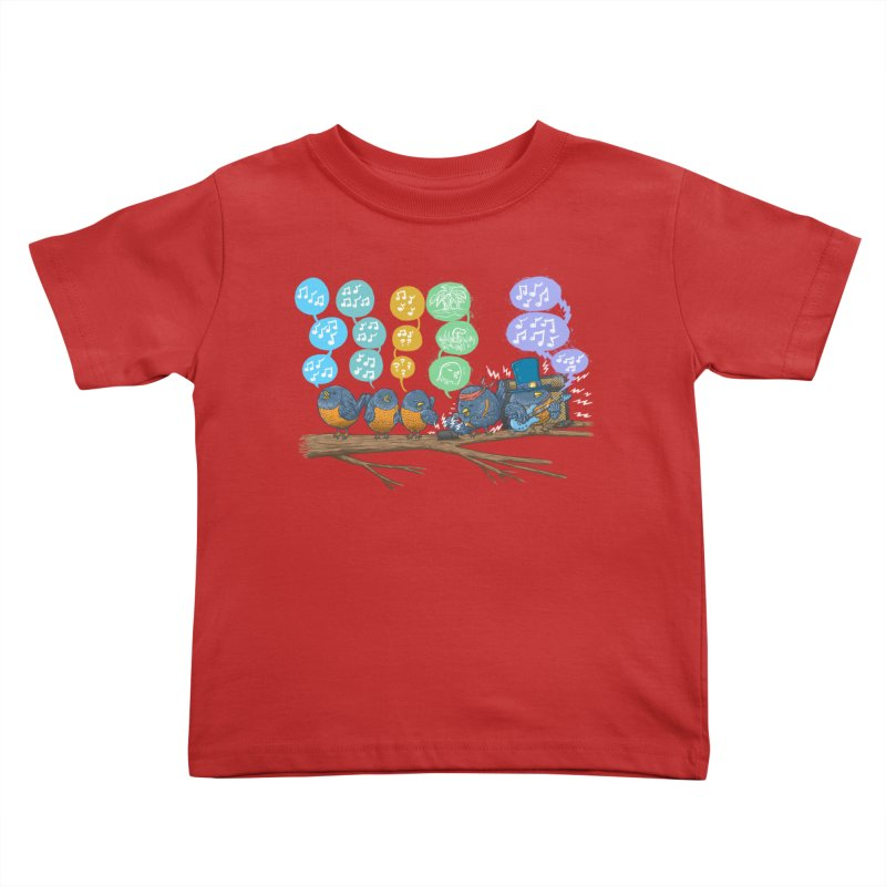 Spring Birds Kids Toddler T-Shirt by nickv47