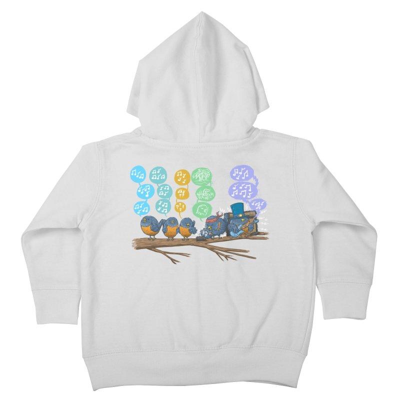 Spring Birds Kids Toddler Zip-Up Hoody by nickv47