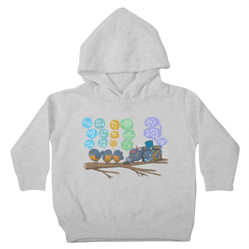 Spring Birds Kids Toddler Pullover Hoody by nickv47
