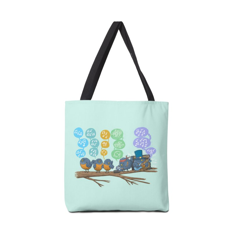 Spring Birds Accessories Tote Bag Bag by nickv47