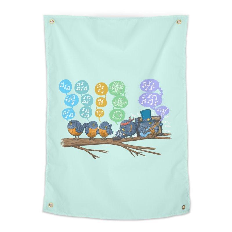 Spring Birds Home Tapestry by nickv47